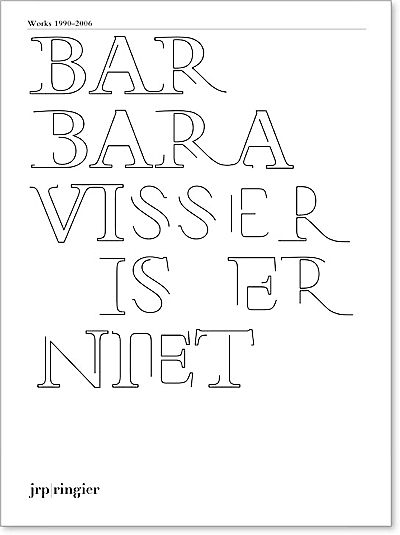 Barbara Visser is er niet